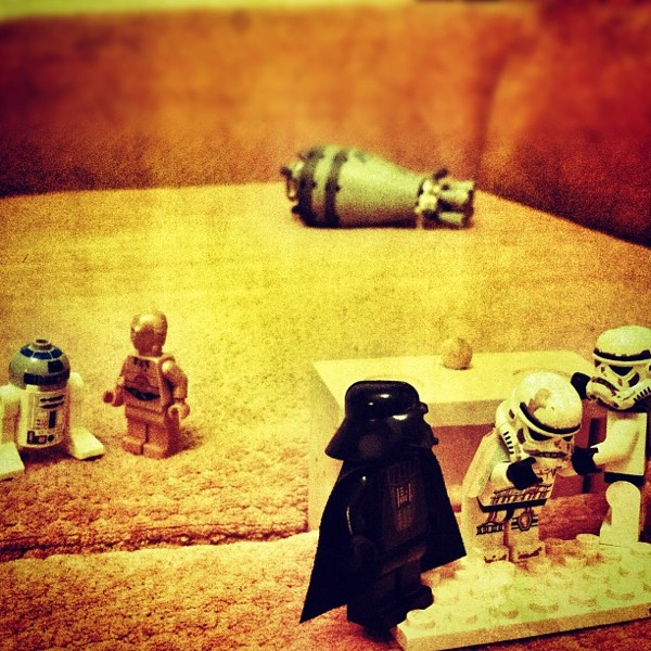 LEGO Star Wars diorama