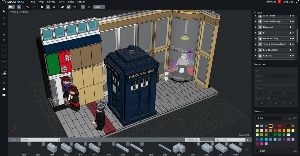 lego-vignette-doctor-who-deep-breath-02-making-of-mecabricks